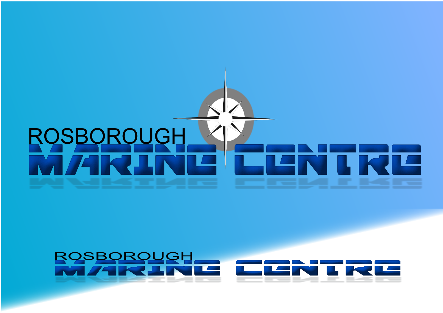 Logo Design by joway - Entry No. 46 in the Logo Design Contest Rosborough Marine Centre Logo Design.