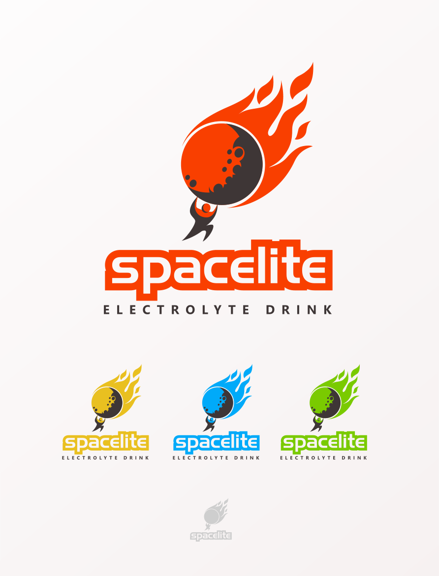 Logo Design by Jorge Sardon - Entry No. 34 in the Logo Design Contest Fun Logo Design for Spacelyte.