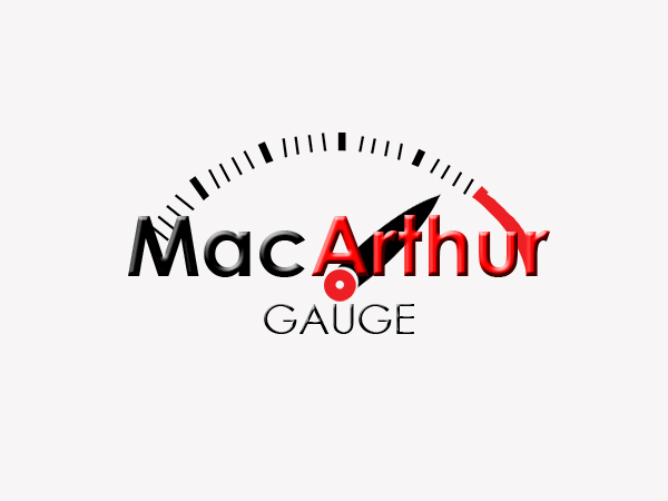 Logo Design by Mythos Designs - Entry No. 49 in the Logo Design Contest Fun Logo Design for MacArthur Gauge.