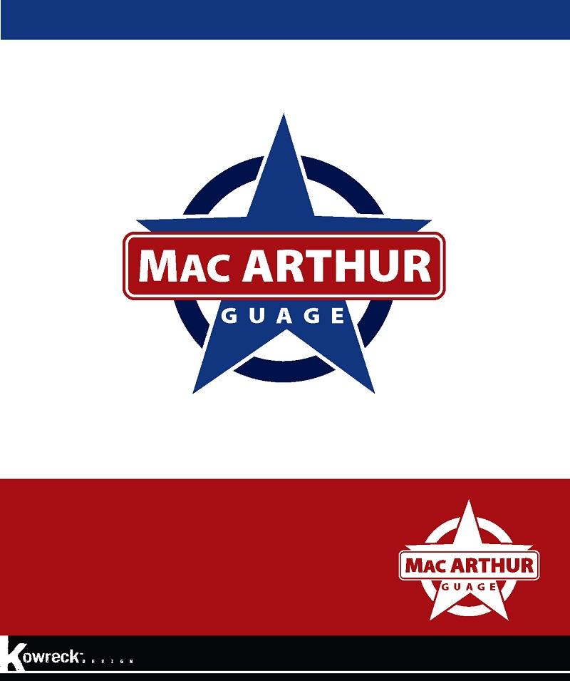 Logo Design by kowreck - Entry No. 52 in the Logo Design Contest Fun Logo Design for MacArthur Gauge.