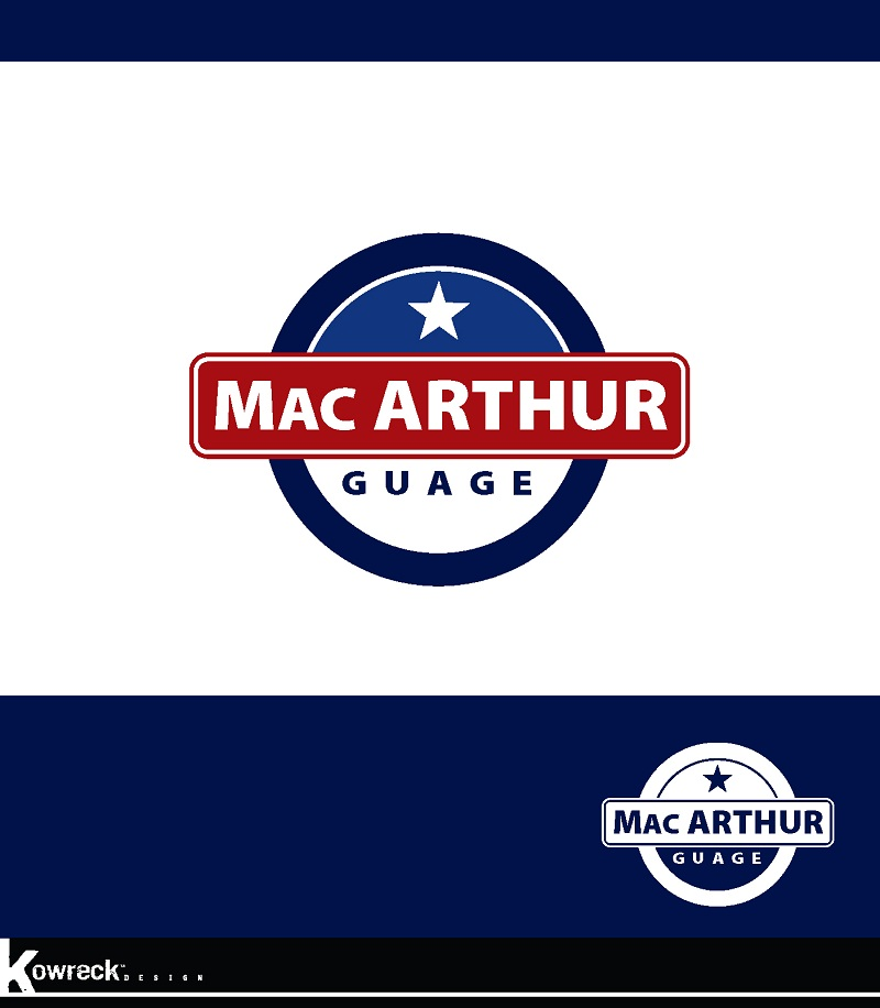 Logo Design by kowreck - Entry No. 53 in the Logo Design Contest Fun Logo Design for MacArthur Gauge.