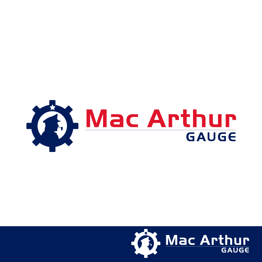 Logo Design by Edward Goodwin - Entry No. 60 in the Logo Design Contest Fun Logo Design for MacArthur Gauge.