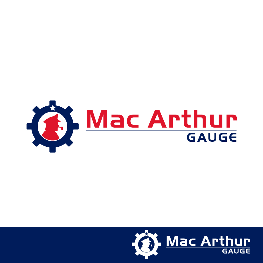 Logo Design by Edward Goodwin - Entry No. 61 in the Logo Design Contest Fun Logo Design for MacArthur Gauge.