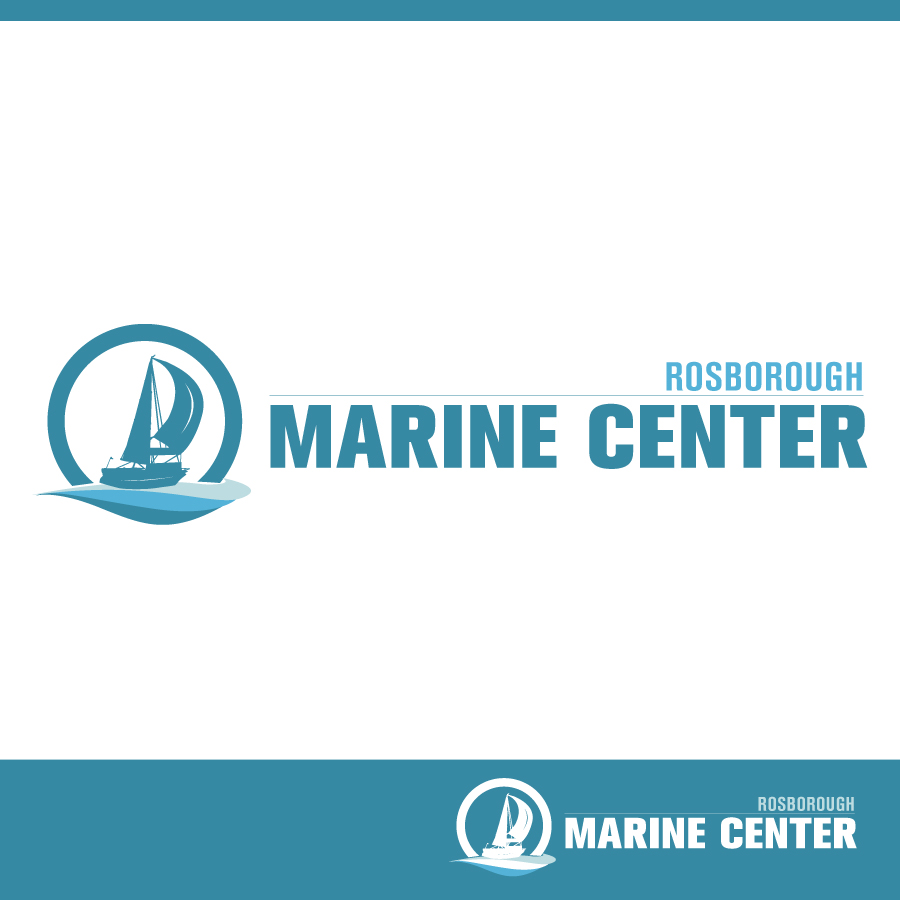 Logo Design by Edward Goodwin - Entry No. 60 in the Logo Design Contest Rosborough Marine Centre Logo Design.