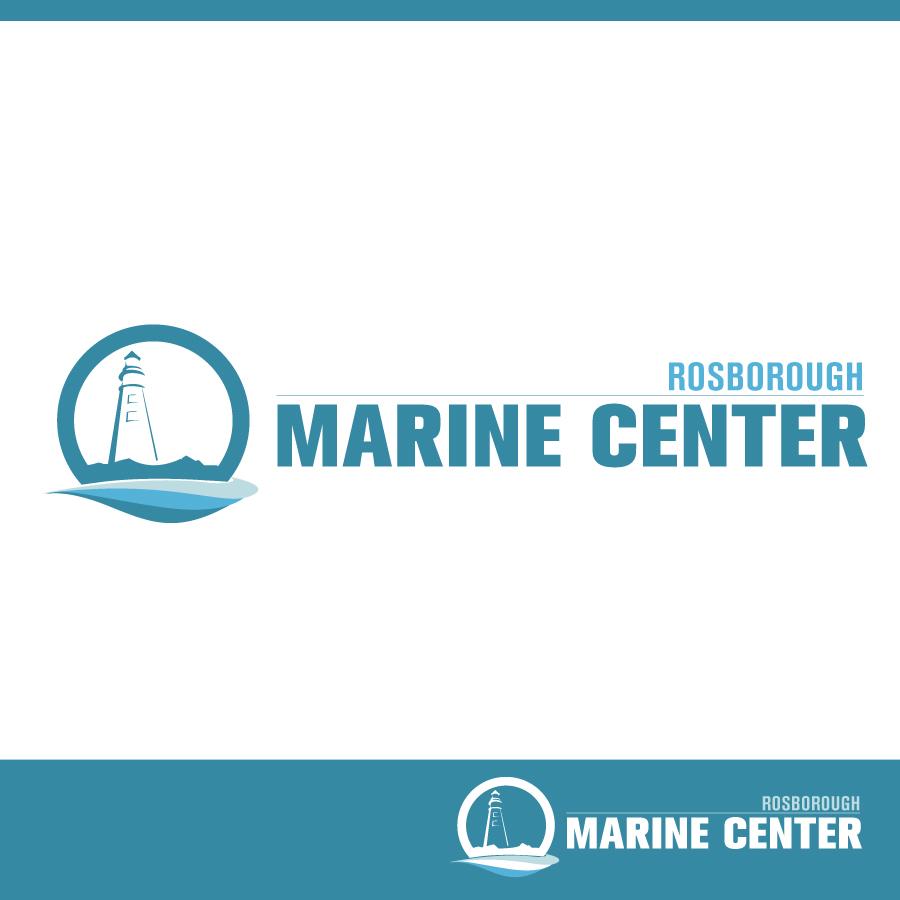 Logo Design by Edward Goodwin - Entry No. 62 in the Logo Design Contest Rosborough Marine Centre Logo Design.