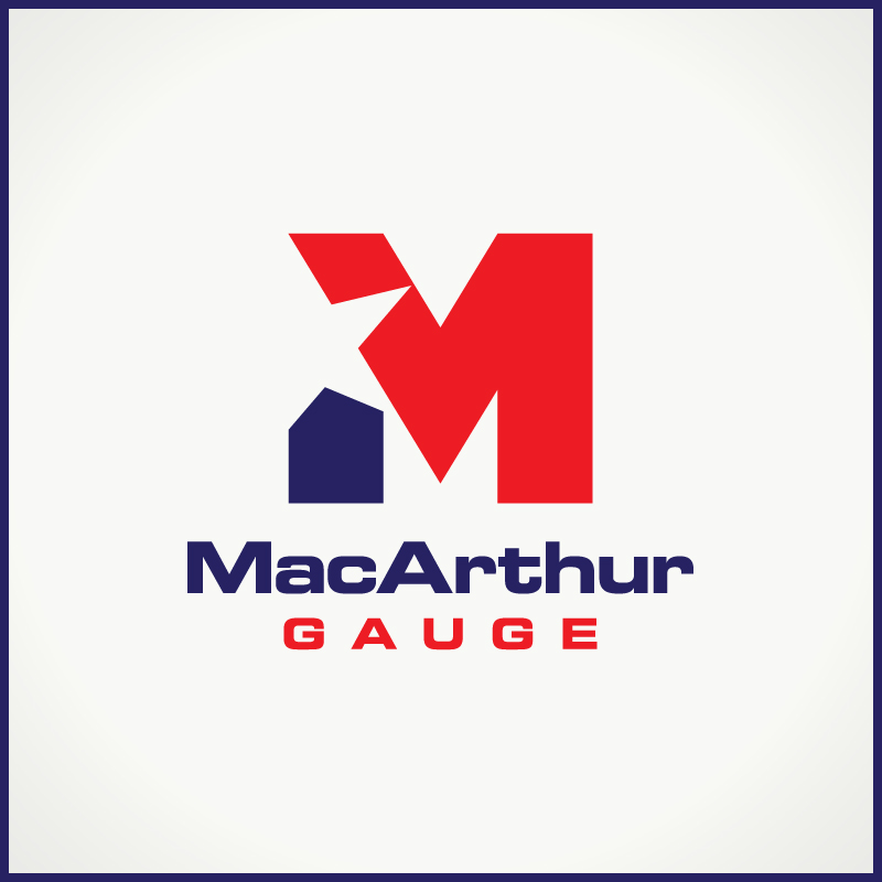 Logo Design by Number-Eight-Design - Entry No. 63 in the Logo Design Contest Fun Logo Design for MacArthur Gauge.