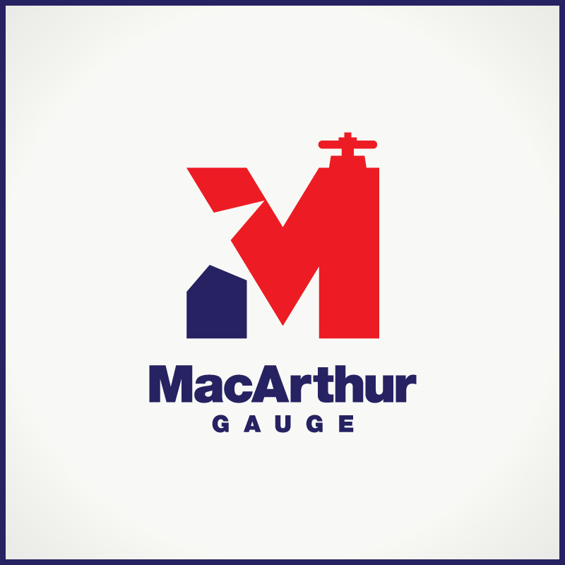 Logo Design by Number-Eight-Design - Entry No. 64 in the Logo Design Contest Fun Logo Design for MacArthur Gauge.