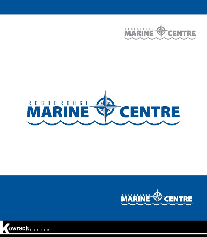Logo Design by kowreck - Entry No. 65 in the Logo Design Contest Rosborough Marine Centre Logo Design.