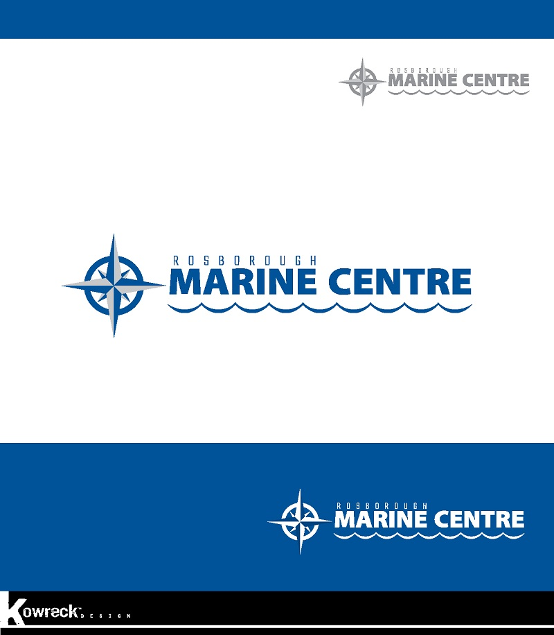 Logo Design by kowreck - Entry No. 67 in the Logo Design Contest Rosborough Marine Centre Logo Design.