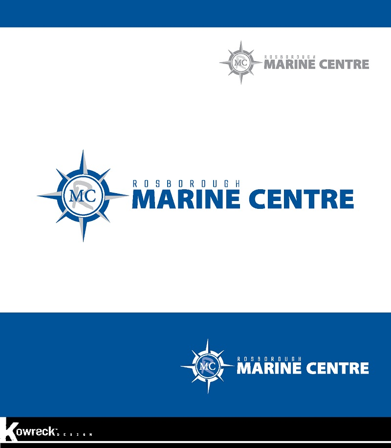 Logo Design by kowreck - Entry No. 68 in the Logo Design Contest Rosborough Marine Centre Logo Design.