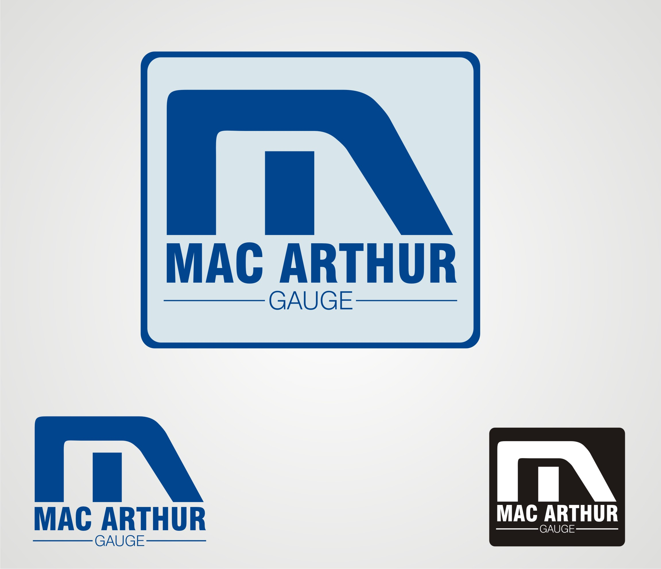 Logo Design by Anuj Verma - Entry No. 65 in the Logo Design Contest Fun Logo Design for MacArthur Gauge.