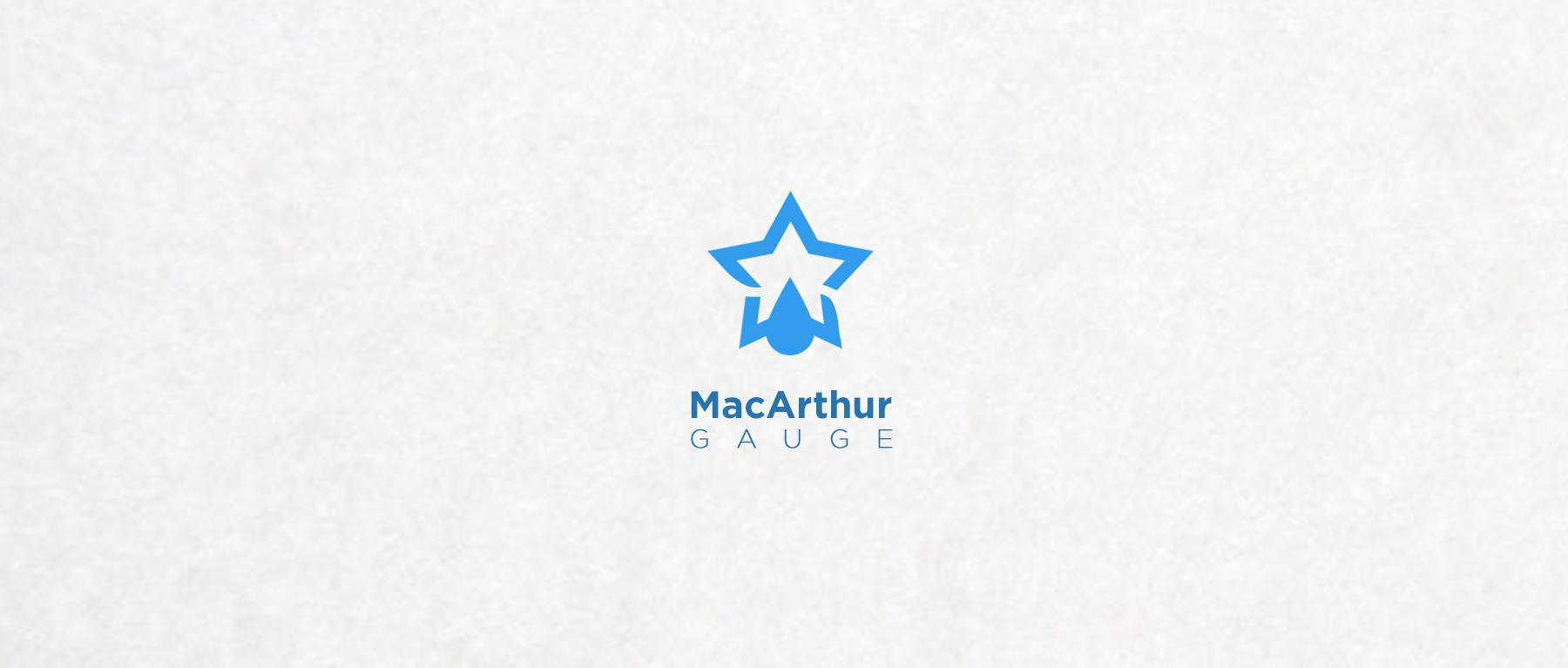 Logo Design by Private User - Entry No. 66 in the Logo Design Contest Fun Logo Design for MacArthur Gauge.