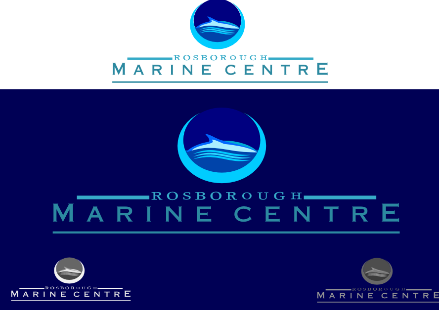 Logo Design by whoosef - Entry No. 73 in the Logo Design Contest Rosborough Marine Centre Logo Design.