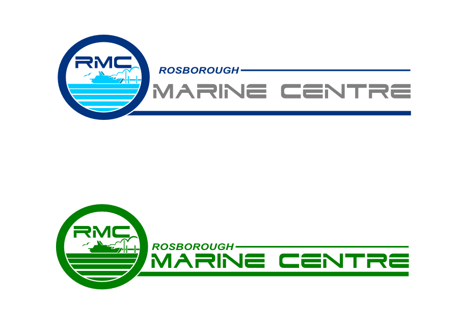 Logo Design by whoosef - Entry No. 74 in the Logo Design Contest Rosborough Marine Centre Logo Design.