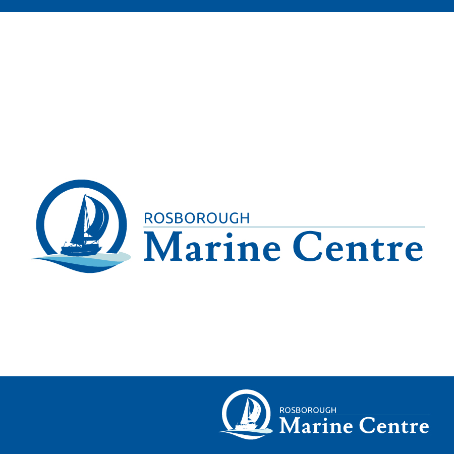 Logo Design by Edward Goodwin - Entry No. 88 in the Logo Design Contest Rosborough Marine Centre Logo Design.