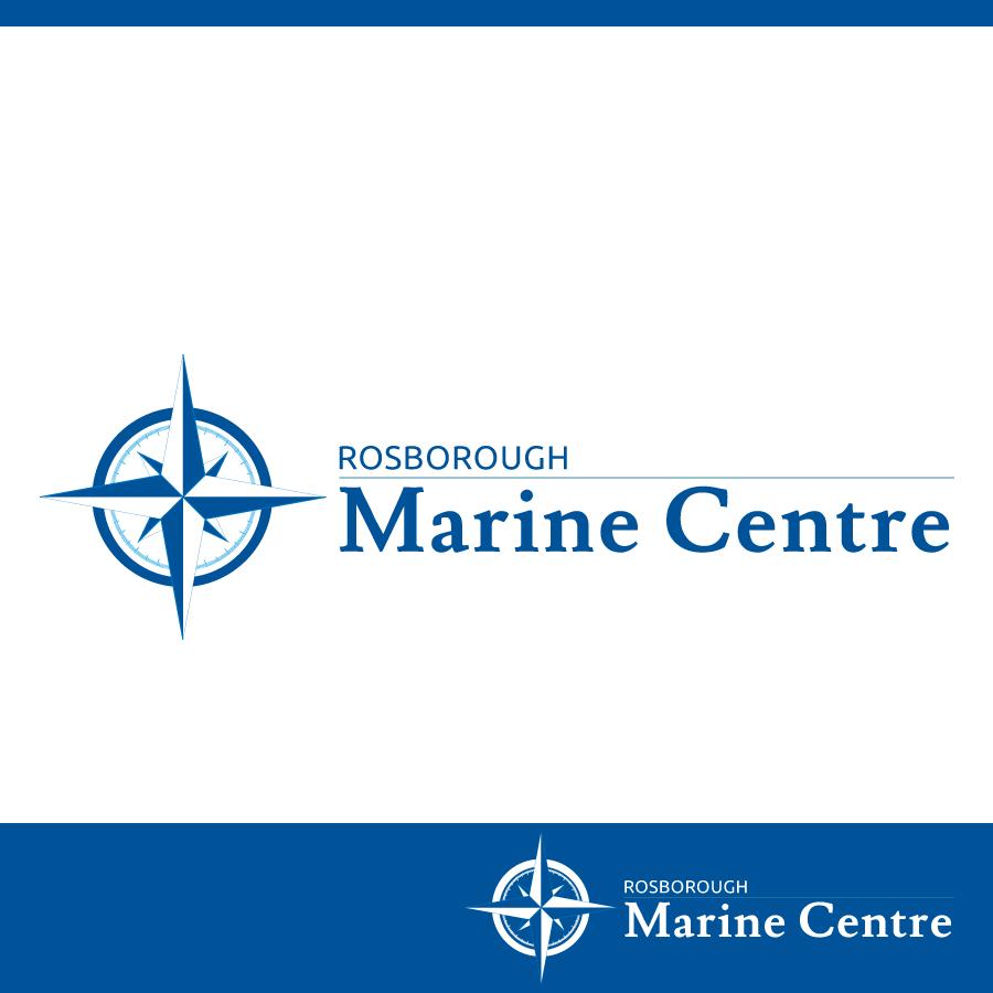 Logo Design by Edward Goodwin - Entry No. 89 in the Logo Design Contest Rosborough Marine Centre Logo Design.