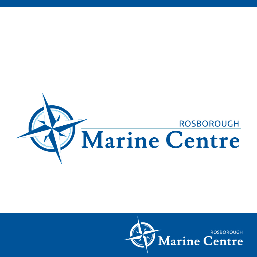 Logo Design by Edward Goodwin - Entry No. 90 in the Logo Design Contest Rosborough Marine Centre Logo Design.