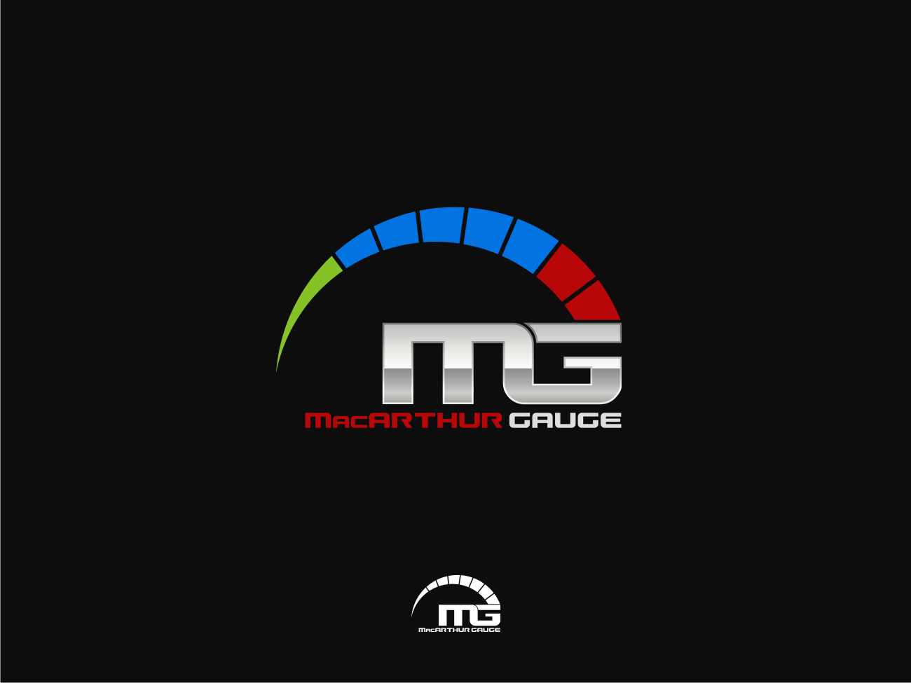 Logo Design by Pay_mo - Entry No. 81 in the Logo Design Contest Fun Logo Design for MacArthur Gauge.