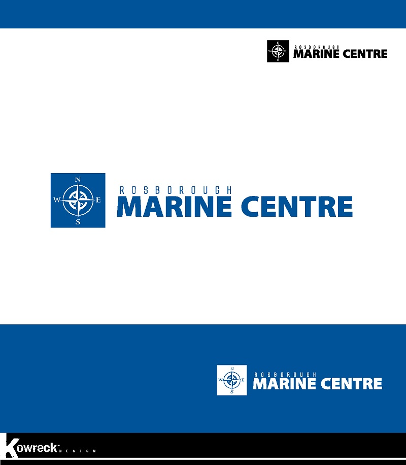 Logo Design by kowreck - Entry No. 94 in the Logo Design Contest Rosborough Marine Centre Logo Design.