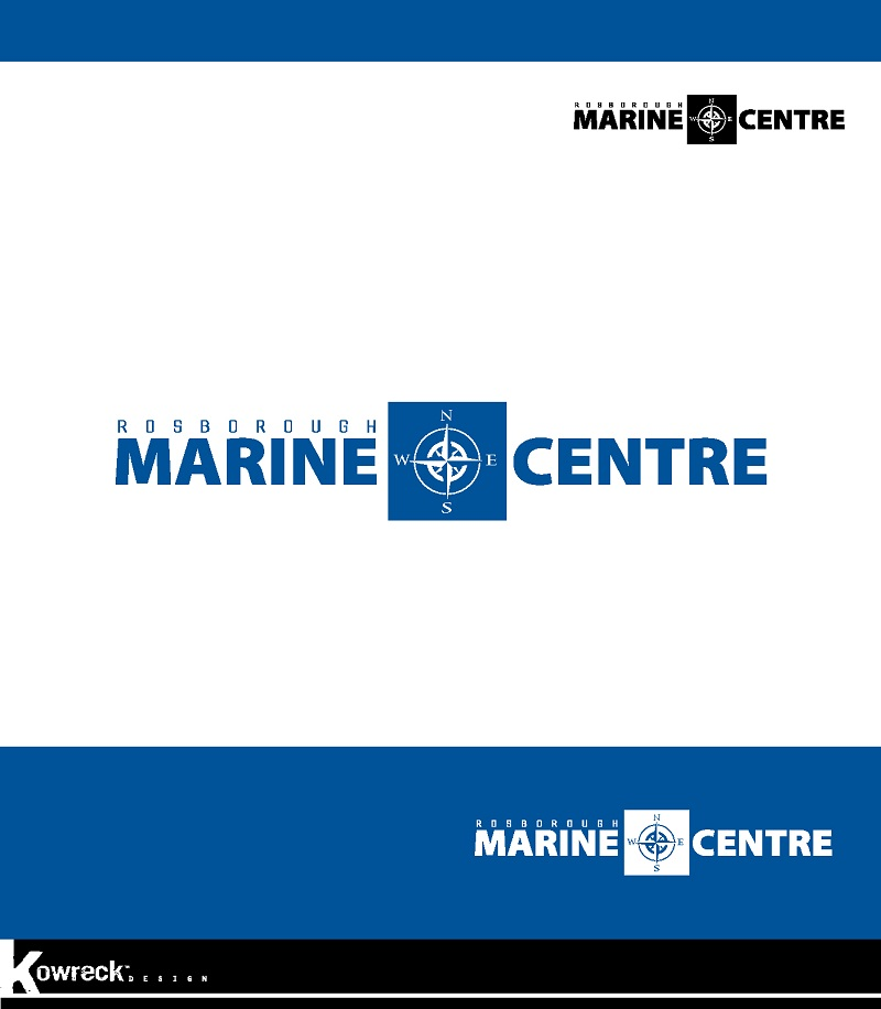 Logo Design by kowreck - Entry No. 95 in the Logo Design Contest Rosborough Marine Centre Logo Design.