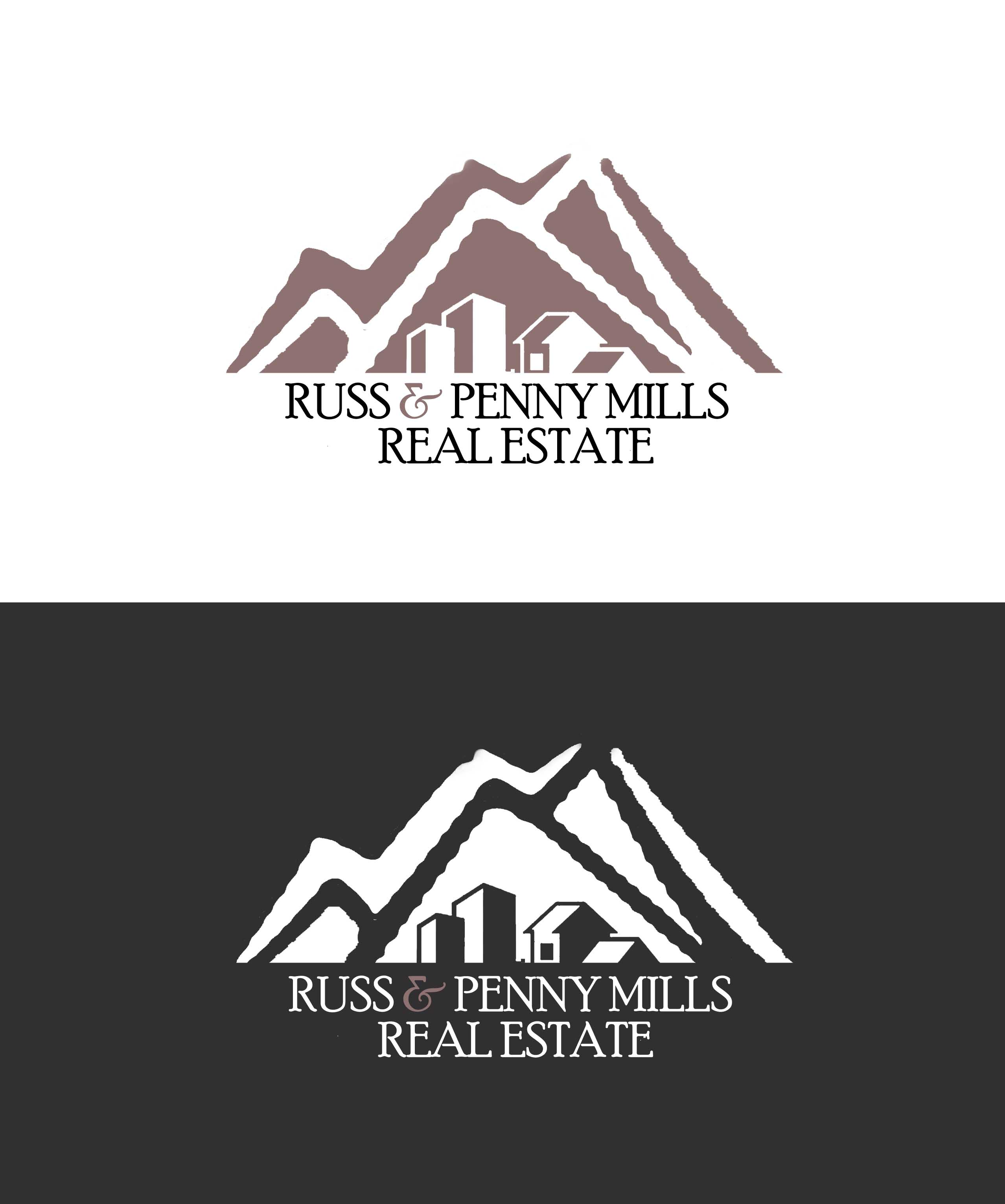 Custom Design by Lama Creative - Entry No. 6 in the Custom Design Contest Fun Custom Design for Russ and Penny Mills (realtors).