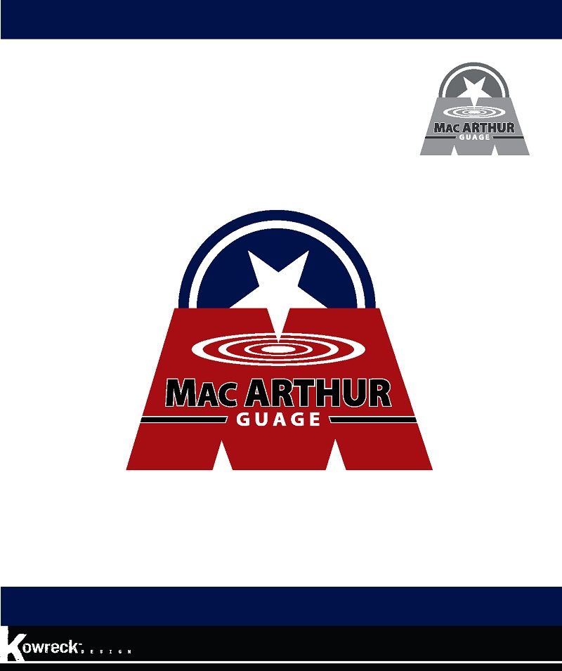 Logo Design by kowreck - Entry No. 84 in the Logo Design Contest Fun Logo Design for MacArthur Gauge.