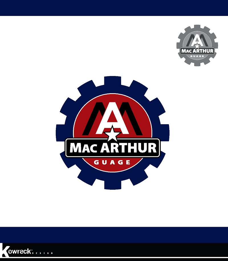 Logo Design by kowreck - Entry No. 85 in the Logo Design Contest Fun Logo Design for MacArthur Gauge.