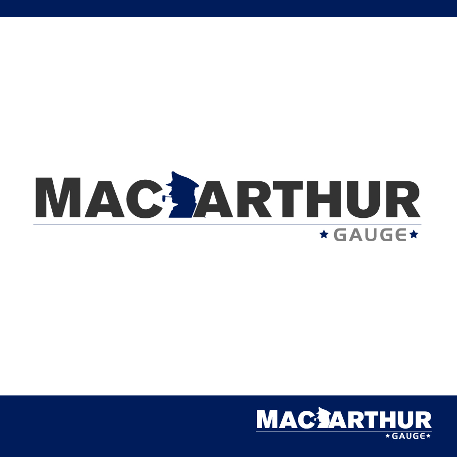 Logo Design by Edward Goodwin - Entry No. 92 in the Logo Design Contest Fun Logo Design for MacArthur Gauge.