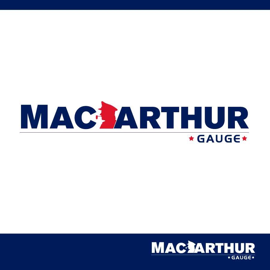 Logo Design by Edward Goodwin - Entry No. 93 in the Logo Design Contest Fun Logo Design for MacArthur Gauge.
