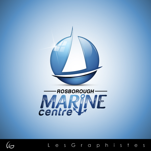 Logo Design by Les-Graphistes - Entry No. 98 in the Logo Design Contest Rosborough Marine Centre Logo Design.