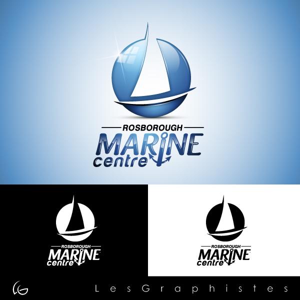 Logo Design by Les-Graphistes - Entry No. 99 in the Logo Design Contest Rosborough Marine Centre Logo Design.