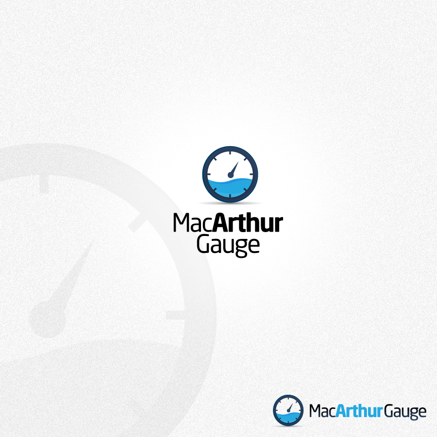 Logo Design by rockpinoy - Entry No. 96 in the Logo Design Contest Fun Logo Design for MacArthur Gauge.
