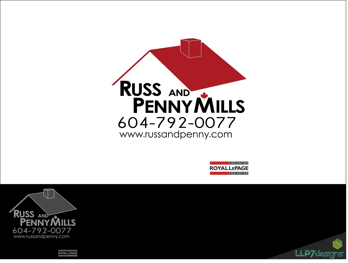 Custom Design by LLP7 - Entry No. 11 in the Custom Design Contest Fun Custom Design for Russ and Penny Mills (realtors).