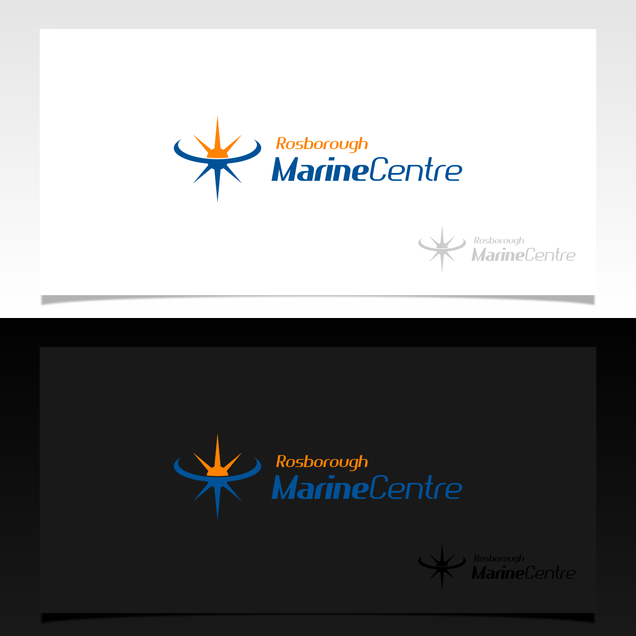 Logo Design by EmLiam - Entry No. 100 in the Logo Design Contest Rosborough Marine Centre Logo Design.