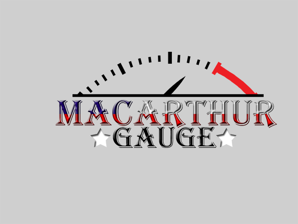 Logo Design by Mythos Designs - Entry No. 100 in the Logo Design Contest Fun Logo Design for MacArthur Gauge.