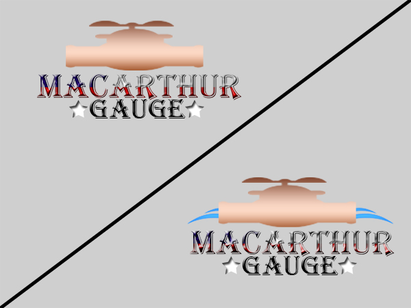 Logo Design by Mythos Designs - Entry No. 102 in the Logo Design Contest Fun Logo Design for MacArthur Gauge.