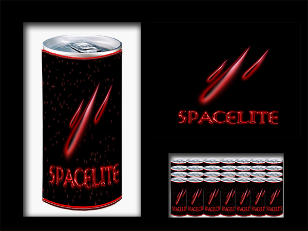Logo Design by Mythos Designs - Entry No. 77 in the Logo Design Contest Fun Logo Design for Spacelyte.