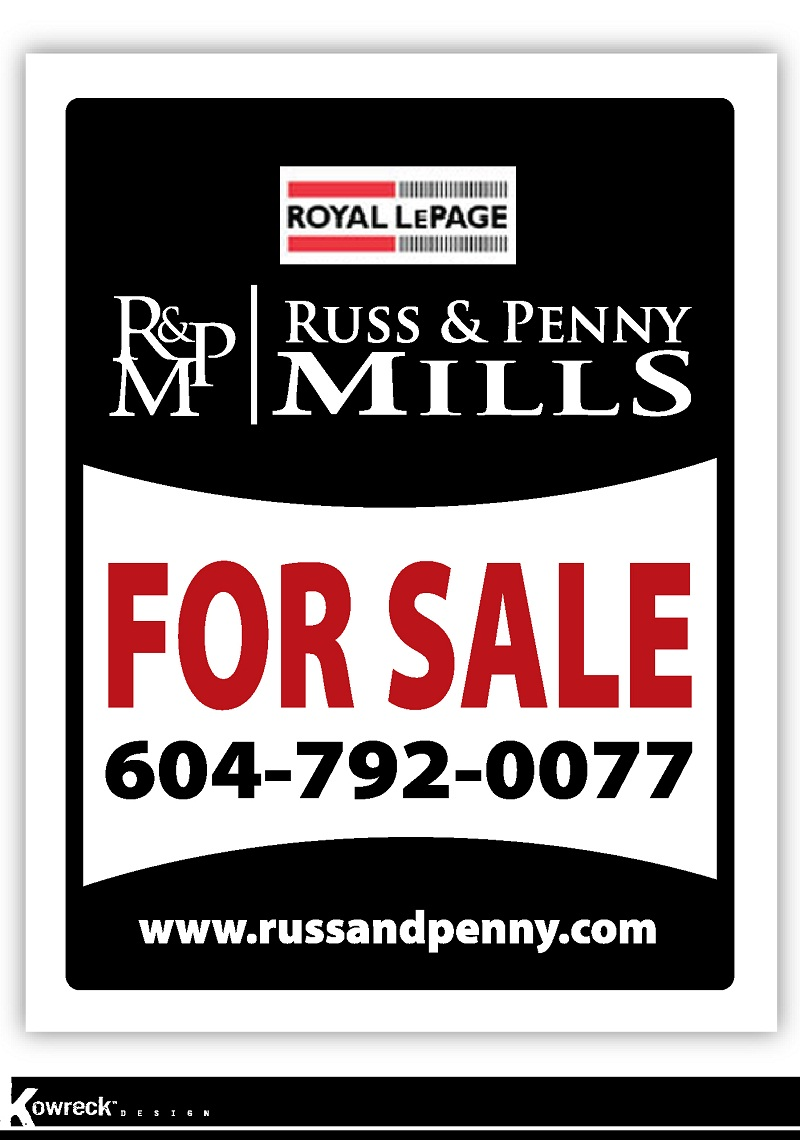 Custom Design by kowreck - Entry No. 29 in the Custom Design Contest Fun Custom Design for Russ and Penny Mills (realtors).