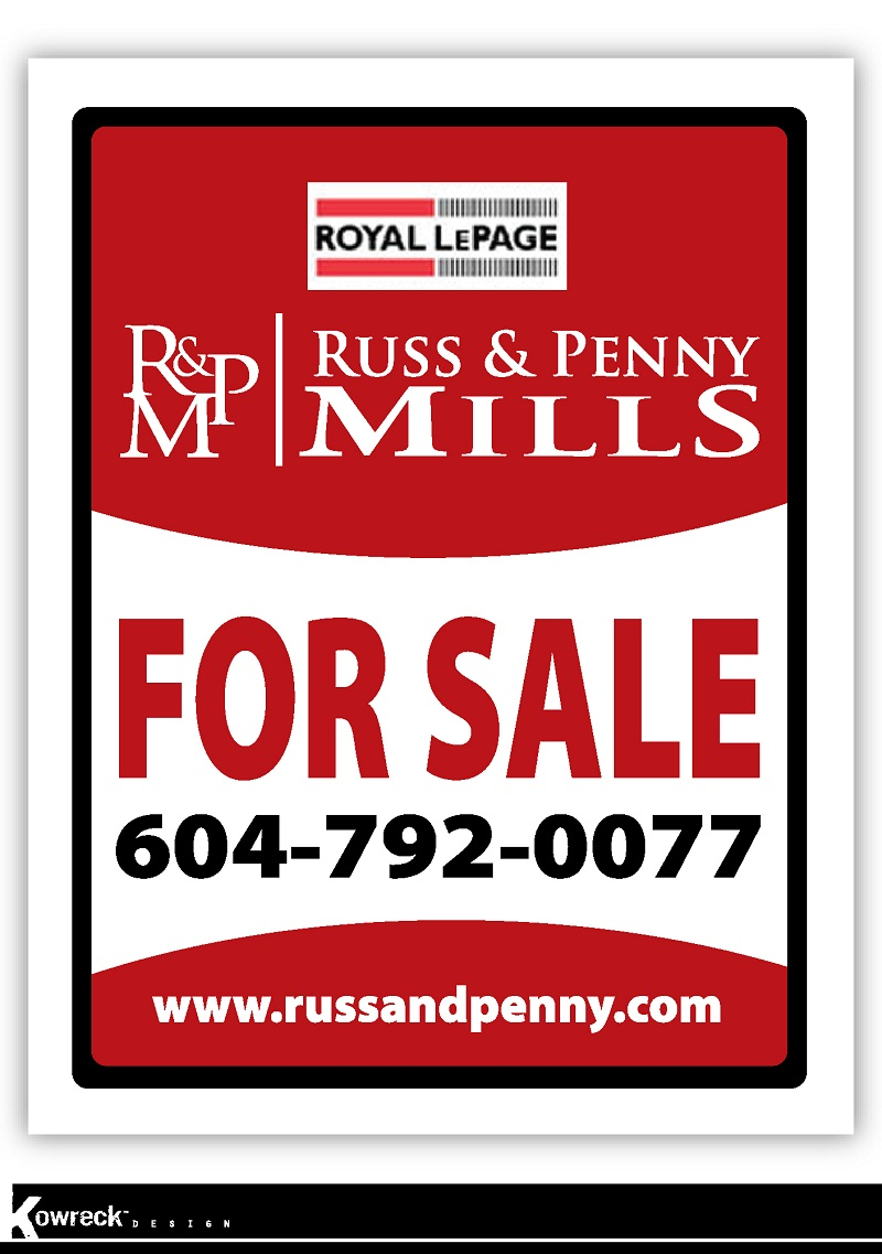 Custom Design by kowreck - Entry No. 30 in the Custom Design Contest Fun Custom Design for Russ and Penny Mills (realtors).