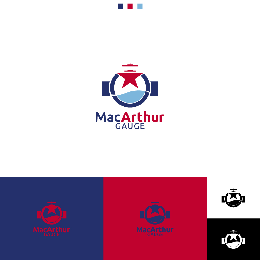 Logo Design by Alpar David - Entry No. 123 in the Logo Design Contest Fun Logo Design for MacArthur Gauge.