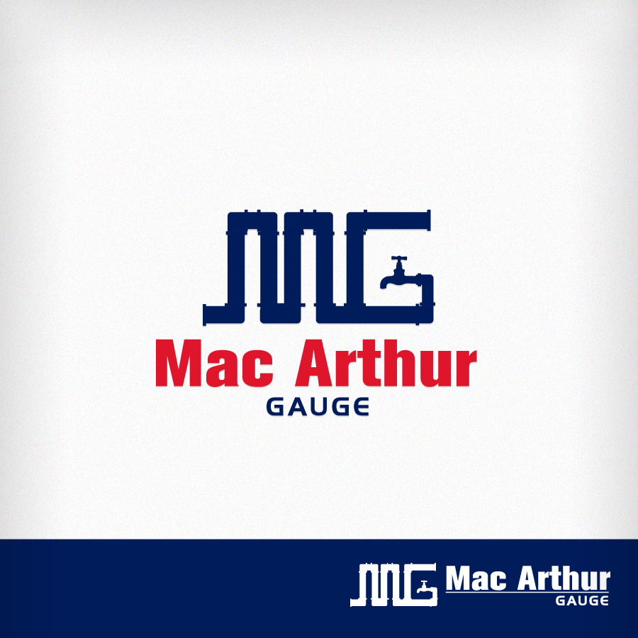 Logo Design by Edward Goodwin - Entry No. 128 in the Logo Design Contest Fun Logo Design for MacArthur Gauge.