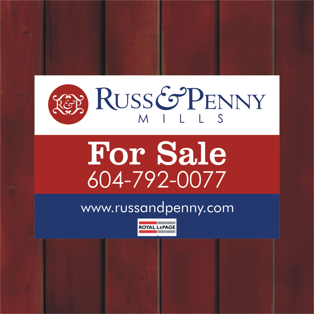 Custom Design by Private User - Entry No. 40 in the Custom Design Contest Fun Custom Design for Russ and Penny Mills (realtors).