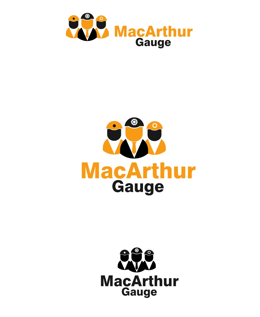 Logo Design by Private User - Entry No. 136 in the Logo Design Contest Fun Logo Design for MacArthur Gauge.