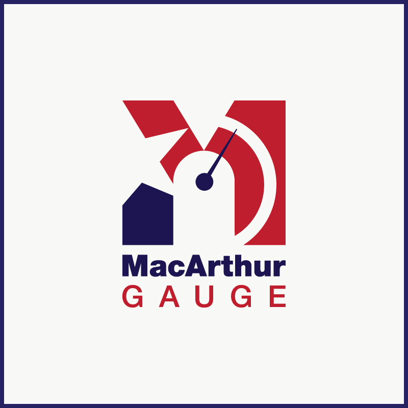 Logo Design by Number-Eight-Design - Entry No. 143 in the Logo Design Contest Fun Logo Design for MacArthur Gauge.