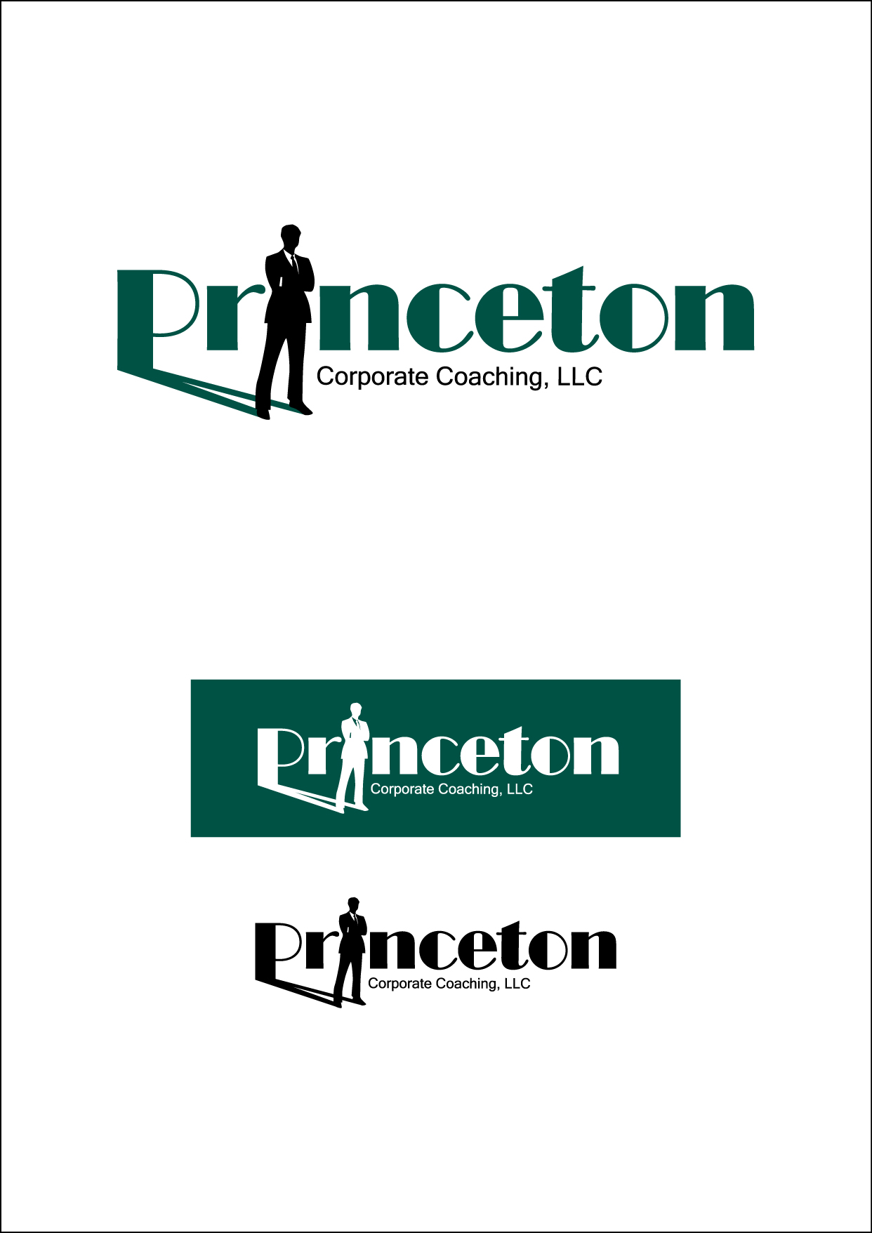 Logo Design by Wilfredo Mendoza - Entry No. 33 in the Logo Design Contest Unique Logo Design Wanted for Princeton Corporate Coaching, LLC.