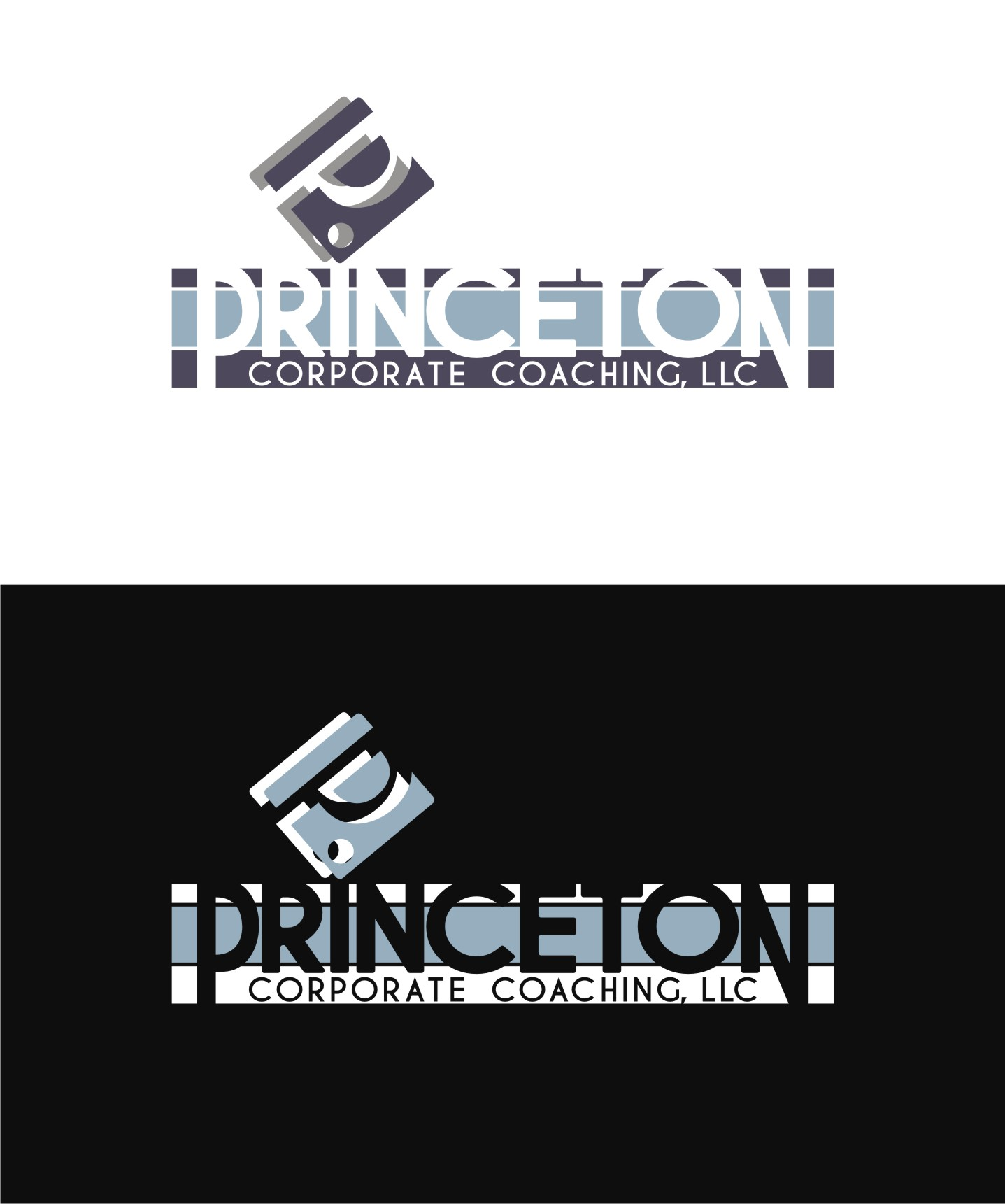 Logo Design by Private User - Entry No. 34 in the Logo Design Contest Unique Logo Design Wanted for Princeton Corporate Coaching, LLC.