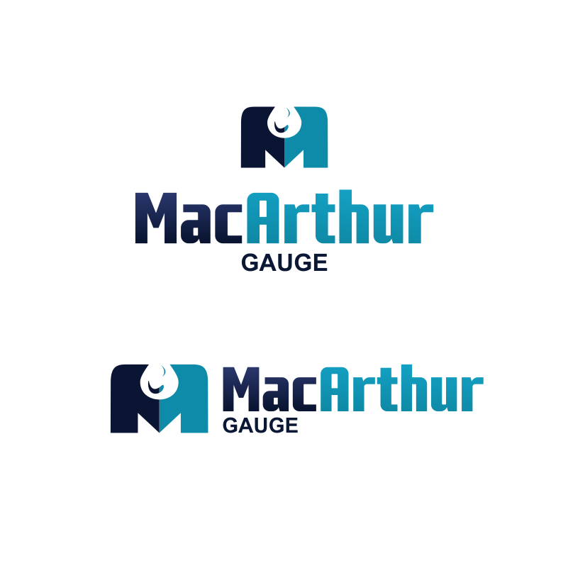 Logo Design by moisesf - Entry No. 147 in the Logo Design Contest Fun Logo Design for MacArthur Gauge.