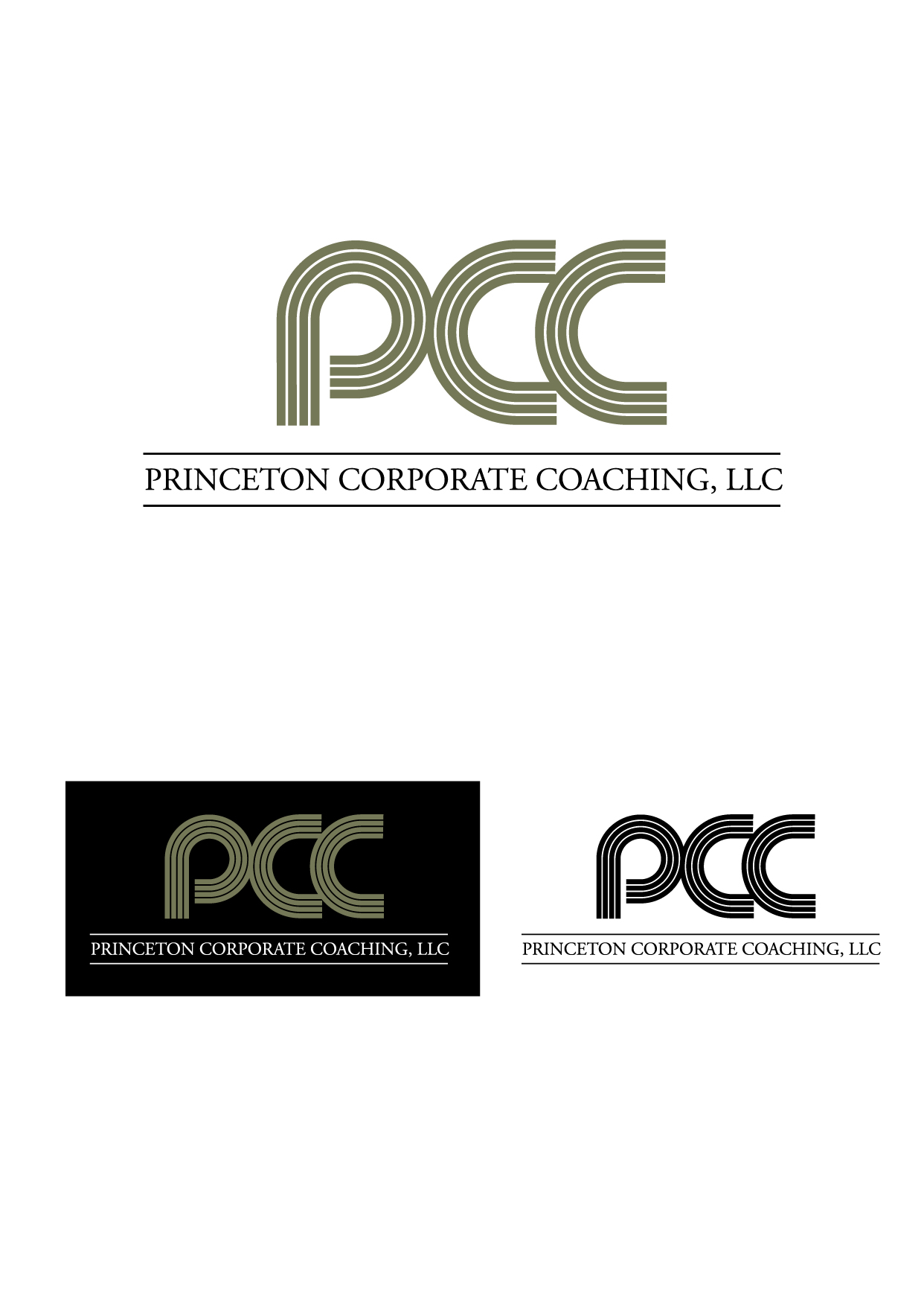 Logo Design by Wilfredo Mendoza - Entry No. 37 in the Logo Design Contest Unique Logo Design Wanted for Princeton Corporate Coaching, LLC.
