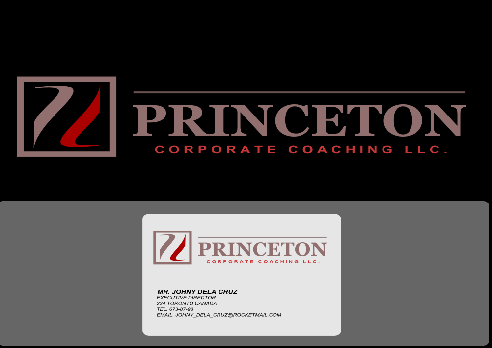 Logo Design by whoosef - Entry No. 38 in the Logo Design Contest Unique Logo Design Wanted for Princeton Corporate Coaching, LLC.