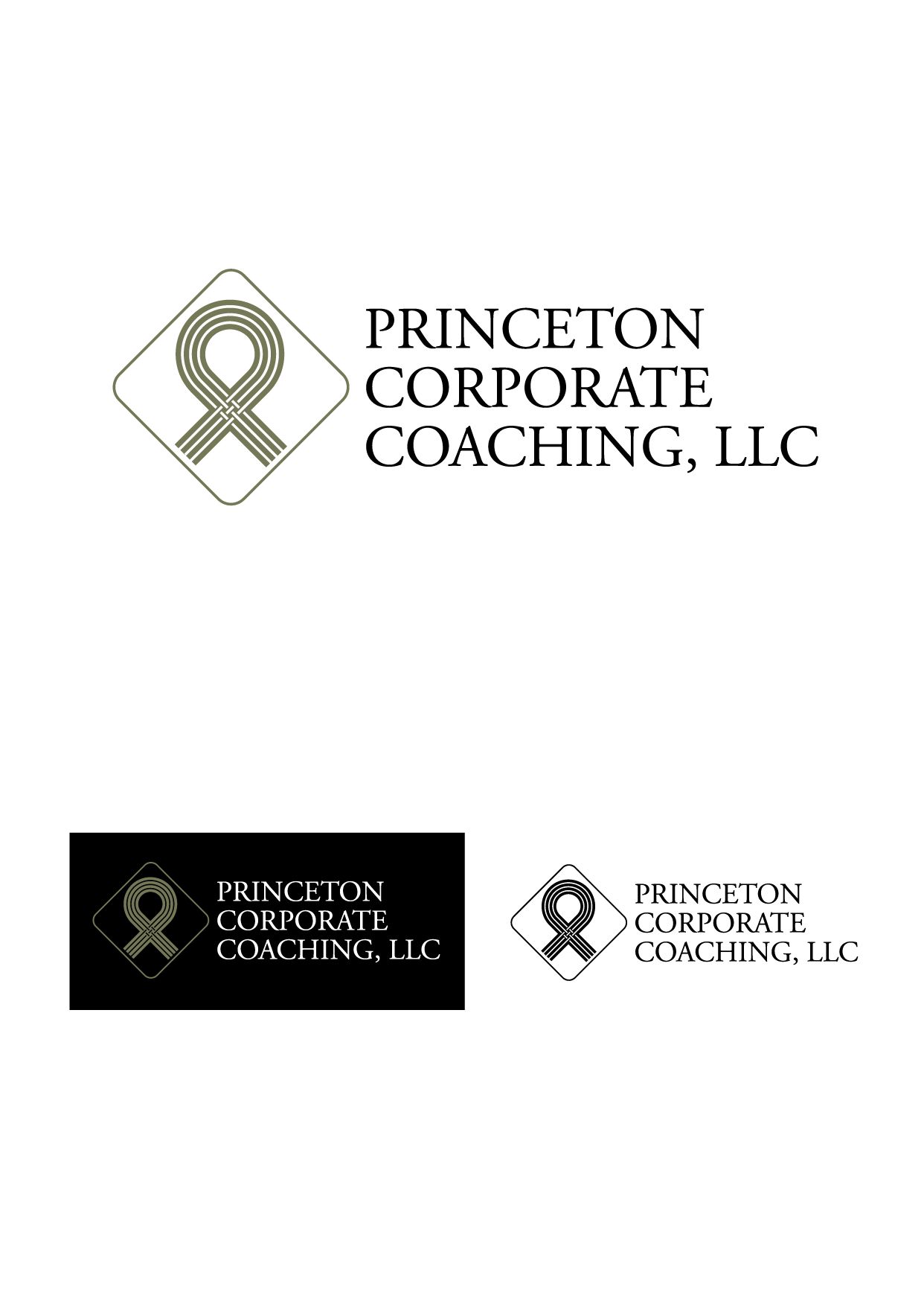 Logo Design by Wilfredo Mendoza - Entry No. 39 in the Logo Design Contest Unique Logo Design Wanted for Princeton Corporate Coaching, LLC.